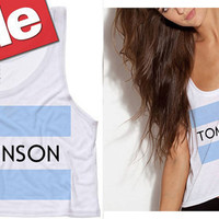 Tomlinson Cropped Tank Top