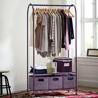 Rolling Closet Rack