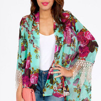 Arlene Kimono Wrap $35