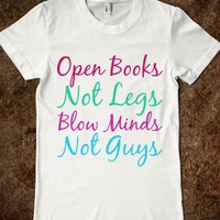 OPEN BOOKS BLOW MINDS