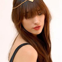 ASHALOO Tribal Gold Headpiece