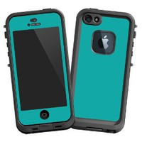 "Amazon.com: Turquoise ""Protective Decal Skin"" for LifeProof 5 Case: Cell Phones & Accessories"