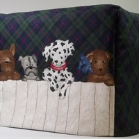 Toaster Cover with Puppies