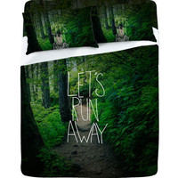 DENY Designs Home Accessories | Leah Flores Lets Run Away 1 Sheet Set