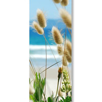 Bookmark beach grasses PRINTABLE  - bunny tails - seaside photography - book lover teachers gift
