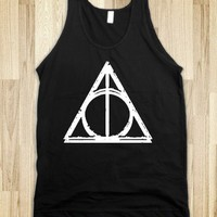 Deathly Hallows (Dark Vintage Tank)
