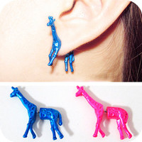 accessoryinlove  Cute Giraffe Ear Studs