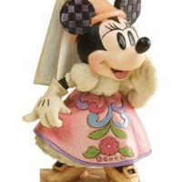 Amazon.com: Disney Traditions by Jim Shore 4011753 Princess Minnie Mouse Personality Pose Figurine 5-Inch: Home & Kitchen
