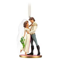 Amazon.com: Disney Tangled Flynn Rider and Rapunzel Sketchbook Ornament: Home & Kitchen