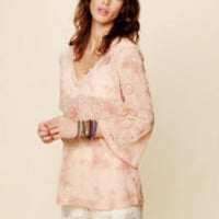 Free People Eyelet Hooded Tunic at Free People Clothing Boutique