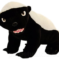 R-RATED TALKING HONEY BADGER PLUSH