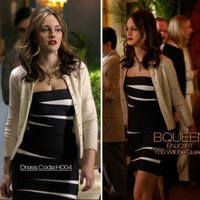 Leighton Meester in H004 Dress - Celebrity Dresses - Apparel