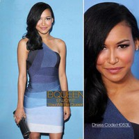 Naya Rivera in H053L Dress - Celebrity Dresses - Apparel
