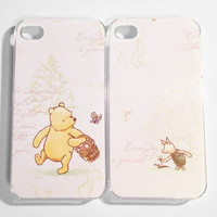 iPhone Case 4/4S - Pooh & Piglet iPhone 4/4S cases