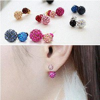 Sparkly Candy Balls Wrapping Ear Studs | LilyFair Jewelry