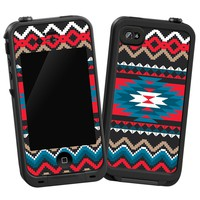 """Folk Tribal """"Protective Decal Skin"""" for LifeProof iPhone 4/4s Case"""
