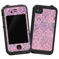 Vintage Purple and Pink Damask Skin for LifeProof 4/4S Case