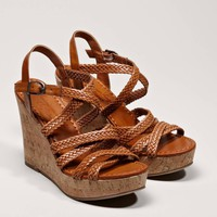 AEO Women's Braided Wedge Sandal