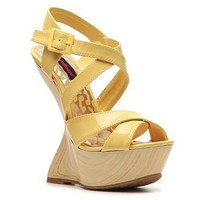 Dollhouse Dazzle Wedge Sandal