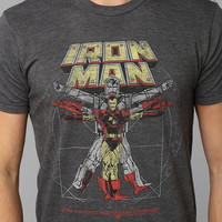 Iron Vitruvian Man Tee