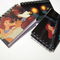 The Little Mermaid Mini Notebook