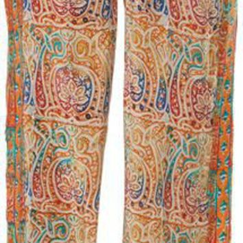 TOLANI PAISLEY SILK PANT > Womens > Clothing > Pants | Swell.com