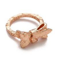 Marc by Marc Jacobs Exploded Bow Tiny Bow Ring | SHOPBOP