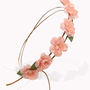 Faux Suede Rose Garland Headwrap | FOREVER 21 - 1053620393