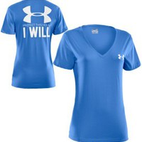 Under Armour Women&#x27;s Protect This House I Will V-Neck T-Shirt