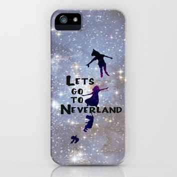 Lets Go To Neverland iPhone Case by Amber Rose | Society6