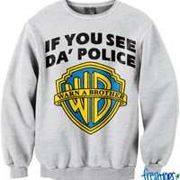 If you see Police Crew Neck | fresh-tops.com