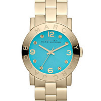 Marc by Marc Jacobs Watch, Women&#x27;s Gold Tone Stainless Steel Bracelet 37mm MBM3220 - Marc by Marc Jacobs - Jewelry &amp; Watches - Macy&#x27;s