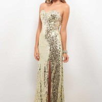 Blush 9598 at Prom Dress Shop