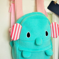 favthing — Mint Elephant Backpack