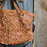 The Willow Leather Tote in Brown, Sweet Bohemian Totes & Bags