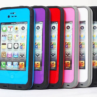 New Life water proof dirt snow shock proof case for iPhone 5