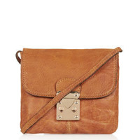Tri Lock Crossbody Bag