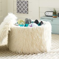 Shoe Storage Ottoman