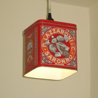 $45.00 Biscotti Tin Pendant Light  by 4FLighting on Etsy