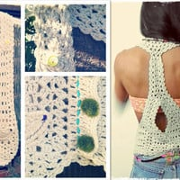 Cover Me Crochet Boho Vest