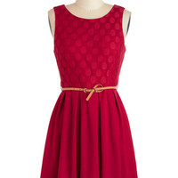 Refine Mint Dress in Peppermint Red | Mod Retro Vintage Dresses | ModCloth.com