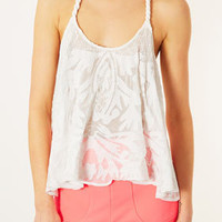 Rope Strap Embroidered Cami - New In This Week  - New In