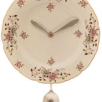 Dish Ran Away with the Spoon Clock | Mod Retro Vintage Wall Decor | ModCloth.com