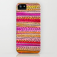 Funky Rhythm 2 (collab with Julia DiSano) iPhone Case by Sreetama Ray | Society6