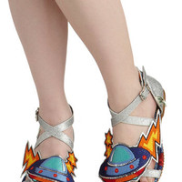 Martian, Martian, Martian Sandal | Mod Retro Vintage Sandals | ModCloth.com