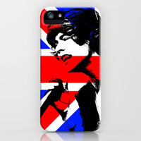 Harry Styles Union Jack - 1Direction iPhone Case by Karl Wilson Photography