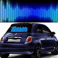 Sound / Music Activated Equalizer Car Sticker