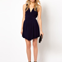 ASOS PETITE Exclusive Grecian Mini Dress