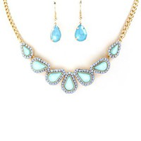 Adeline Blue Necklace