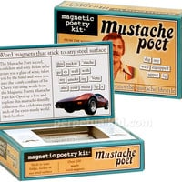 MAGNETIC MUSTACHE POETRY KIT